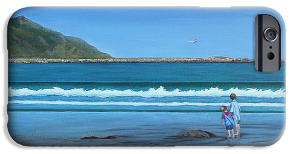 Beach Landscape iPhone Cases - A Time Of Wonder iPhone Case by Karen Wood