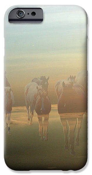 A Touch of Horse Heaven iPhone Case by Andrea Lawrence