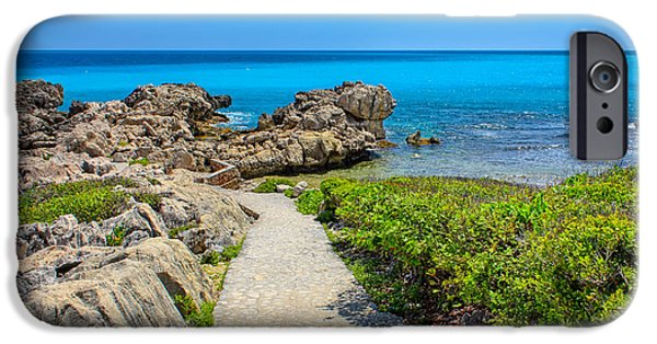 Sea iPhone Cases - A Touch of Nature iPhone Case by John Bailey
