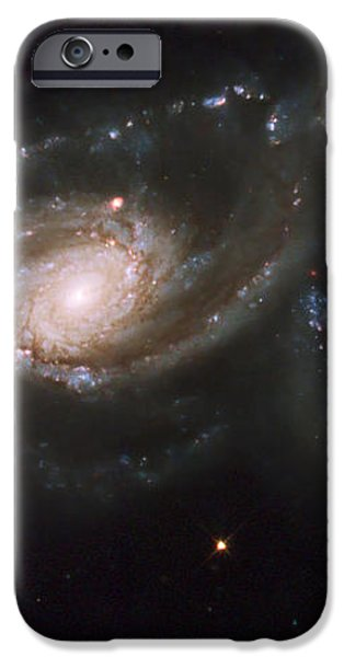 A Triplet Of Galaxies Known As Arp 274 iPhone Case by Stocktrek Images