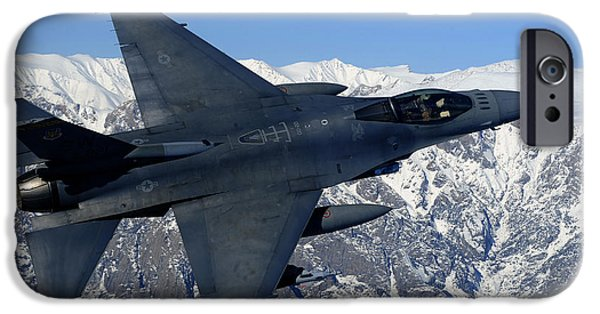 Adults Only iPhone Cases - A U.s. Air Force F-16 Fighting Falcon iPhone Case by Stocktrek Images