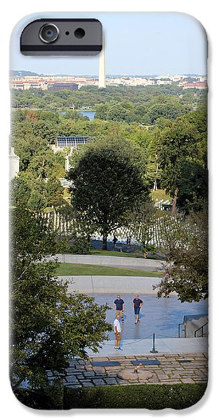Cora Wandel iPhone Cases - A View From Arlington House Hill iPhone Case by Cora Wandel