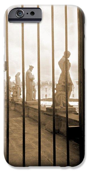 A Walk Through Paris 9 iPhone Case by Mike McGlothlen