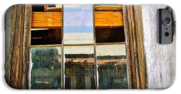 Old Barns iPhone Cases - Abandoned  iPhone Case by Barbara Zahno