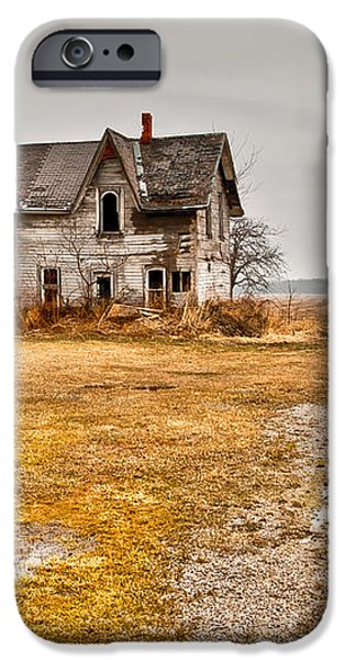 Abandoned Farm House iPhone Case by Cale Best