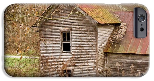 Recently Sold -  - West Fork iPhone Cases - Abandoned house with colorful roof iPhone Case by Douglas Barnett