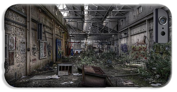 Strange iPhone Cases - Abandoned Place iPhone Case by Svetlana Sewell