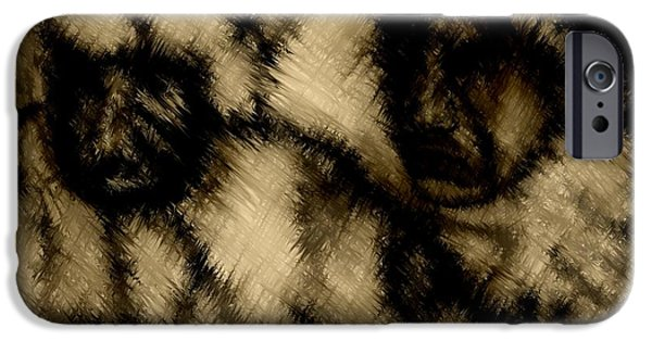Recently Sold -  - Abstract Digital Drawings iPhone Cases - Abandoned iPhone Case by Rafi Talby
