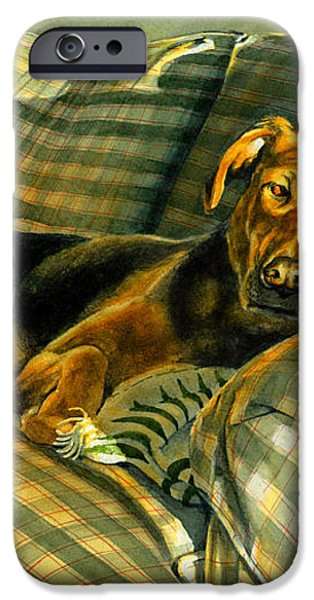 Abby iPhone Case by Tom Hedderich