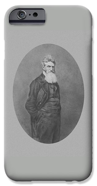 Abolitionist John Brown iPhone Case by War Is Hell Store