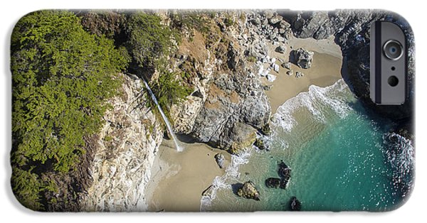 David iPhone Cases - Above McWay Falls iPhone Case by David Levy