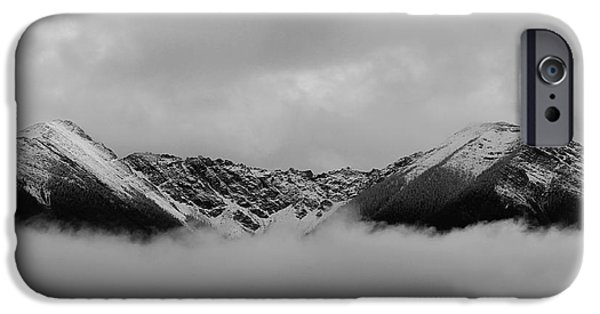 Raining iPhone Cases - Above The Clouds iPhone Case by Nina Silver