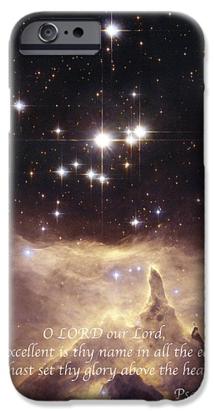 Above the Heavens iPhone Case by Michael Peychich
