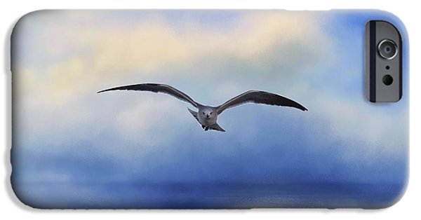 Flight iPhone Cases - Above the Sea iPhone Case by Kim Hojnacki