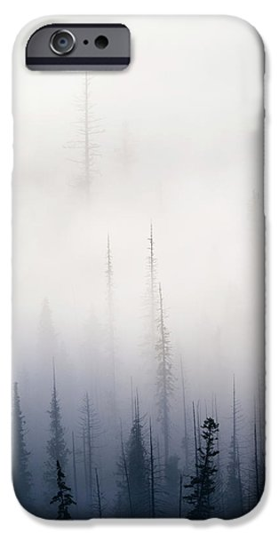 Fog Mist iPhone Cases - Above them All iPhone Case by Mike  Dawson