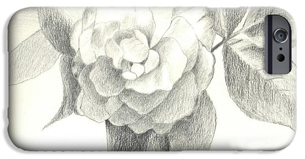 Recently Sold -  - Flora Drawings iPhone Cases - Abracadabra iPhone Case by Helena Tiainen