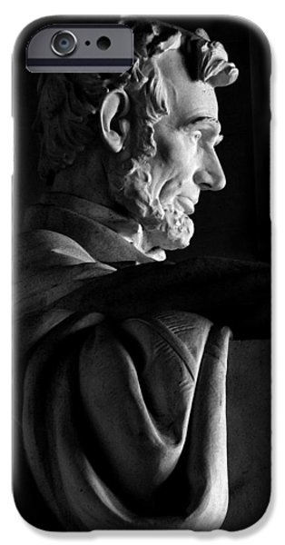 President iPhone Cases - Abraham Lincoln iPhone Case by Kishore Jothady