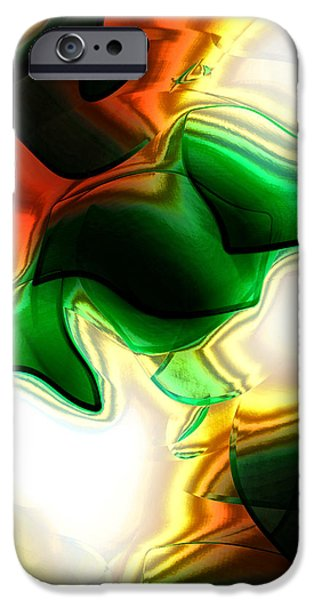 Abstract - Fusion iPhone Case by Patricia Motley