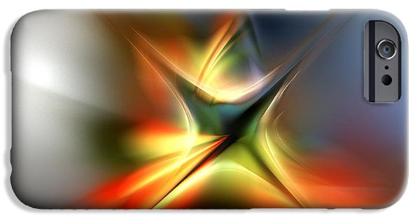 Recently Sold -  - Abstract Digital iPhone Cases - Abstract 060310A iPhone Case by David Lane