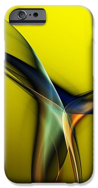 Abstract 060311 iPhone Case by David Lane