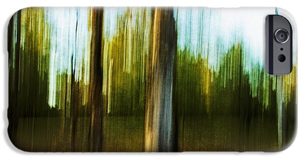 Impressionist Photography iPhone Cases - Abstract 1 iPhone Case by Scott Pellegrin