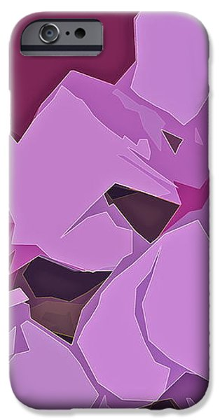 Abstract 144 iPhone Case by Pamela Cooper