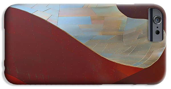 Abstract Forms iPhone Cases - Abstract #2 - EMP - Seattle iPhone Case by Nikolyn McDonald
