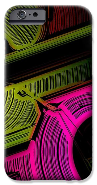 Abstract 6-21-09 iPhone Case by David Lane