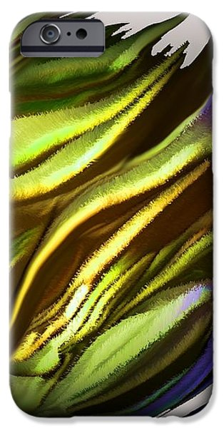 abstract 7-26-09-a iPhone Case by David Lane