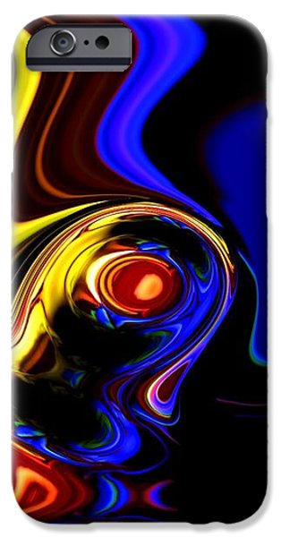abstract 7-26-09 iPhone Case by David Lane
