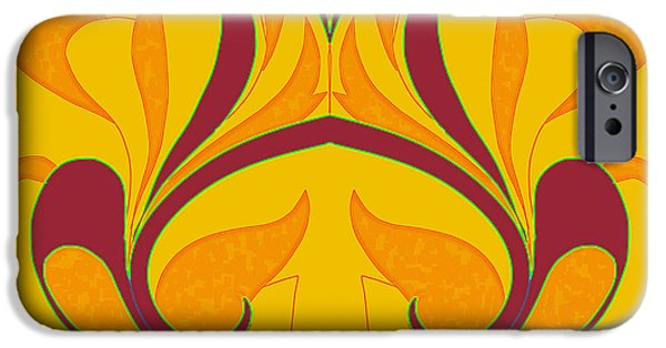 Design iPhone Cases - Abstract A-II iPhone Case by Pratyasha Nithin