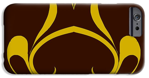 Design iPhone Cases - Abstract A-IV iPhone Case by Pratyasha Nithin