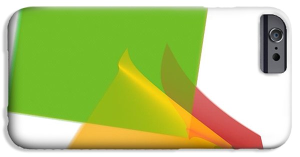 Business Digital Art iPhone Cases - Abstract Art Image #1310231 iPhone Case by Xiaokuan Ren