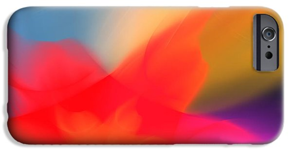 Business Digital Art iPhone Cases - Abstract Art Image #1409281 iPhone Case by Xiaokuan Ren
