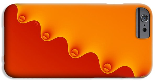 Shape iPhone Cases - Abstract background wallpaper - zipper iPhone Case by Greg Brave