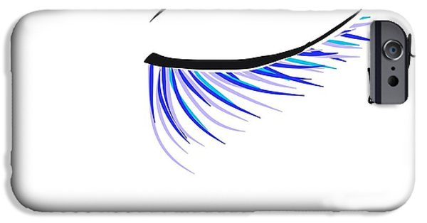 Abstract Digital Drawings iPhone Cases - Abstract beauty  iPhone Case by Gail Nandlal