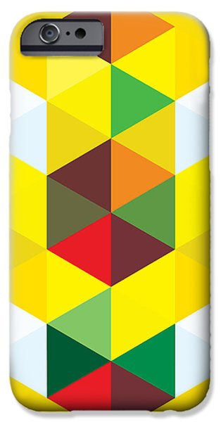 Abstract Cubes iPhone Case by Gary Grayson