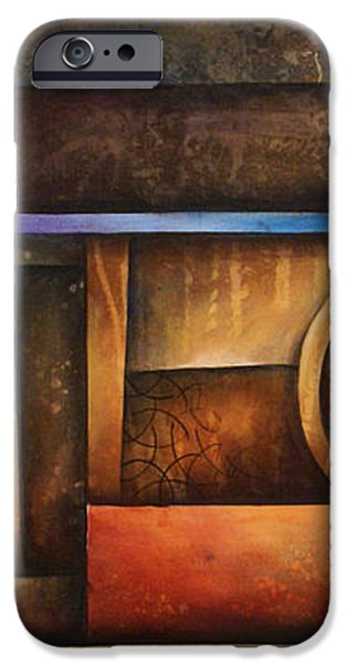 abstract design 30 iPhone Case by Michael Lang
