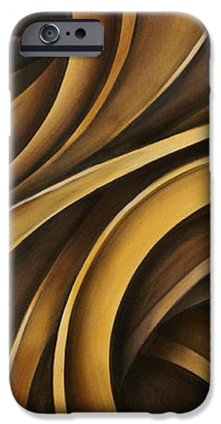 abstract design 34 iPhone Case by Michael Lang