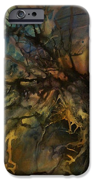 abstract design 88 iPhone Case by Michael Lang