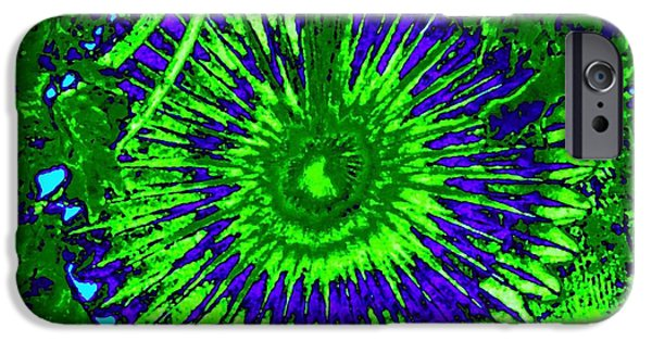 Colorful Abstract iPhone Cases - Abstract Fan Wheel iPhone Case by Will Borden