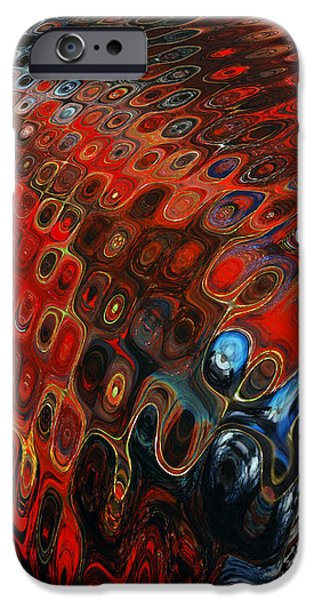 Abstract-Infinity Two iPhone Case by Patricia Motley