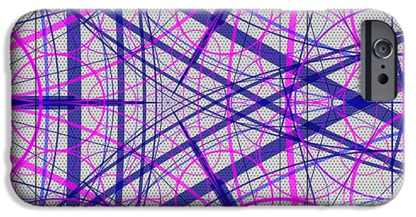 Flower Of Life iPhone Cases - Abstract No 104 - The Small Gate iPhone Case by Radu Gavrila
