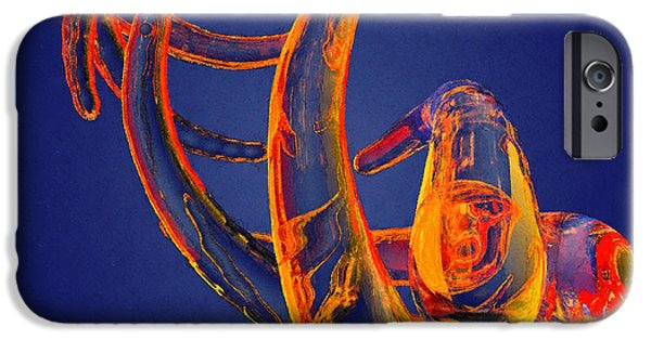 Best Sellers -  - Virtual iPhone Cases - Abstract Number 13 iPhone Case by Peter J Sucy