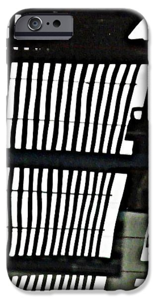 Abstract Reflection 16 iPhone Case by Sarah Loft
