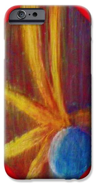 Organic Pastels iPhone Cases - Abstract Still Life iPhone Case by Dorneisha Batson