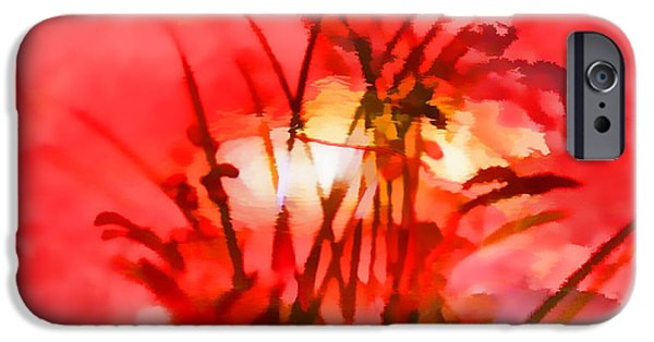 I Am Not iPhone Cases - Abstract The Essence Of Peacefulness by Sherri Of Palm Springs iPhone Case by Sherri  Of Palm Springs