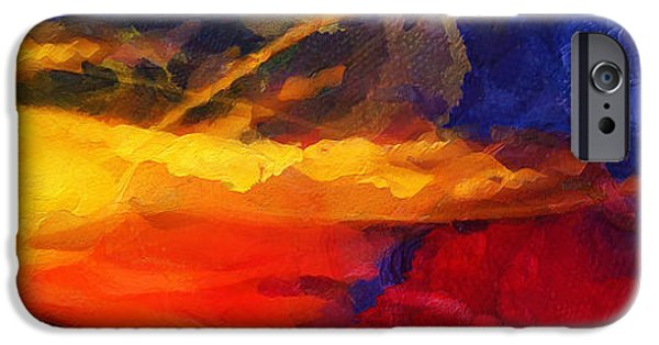 D.c. iPhone Cases - Abstract - Throw  iPhone Case by Sir Josef  Putsche