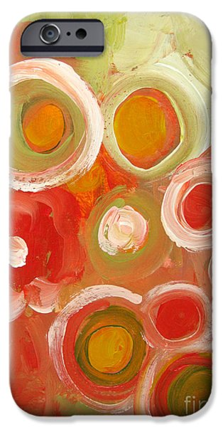 Abstract Expressionist iPhone Cases - Abstract VIII iPhone Case by Patricia Awapara