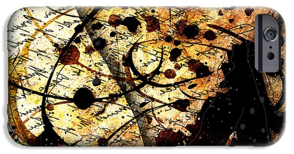"""""""textured Art"""" iPhone Cases - Abstracta_17 Antiqua iPhone Case by Gary Bodnar"""
